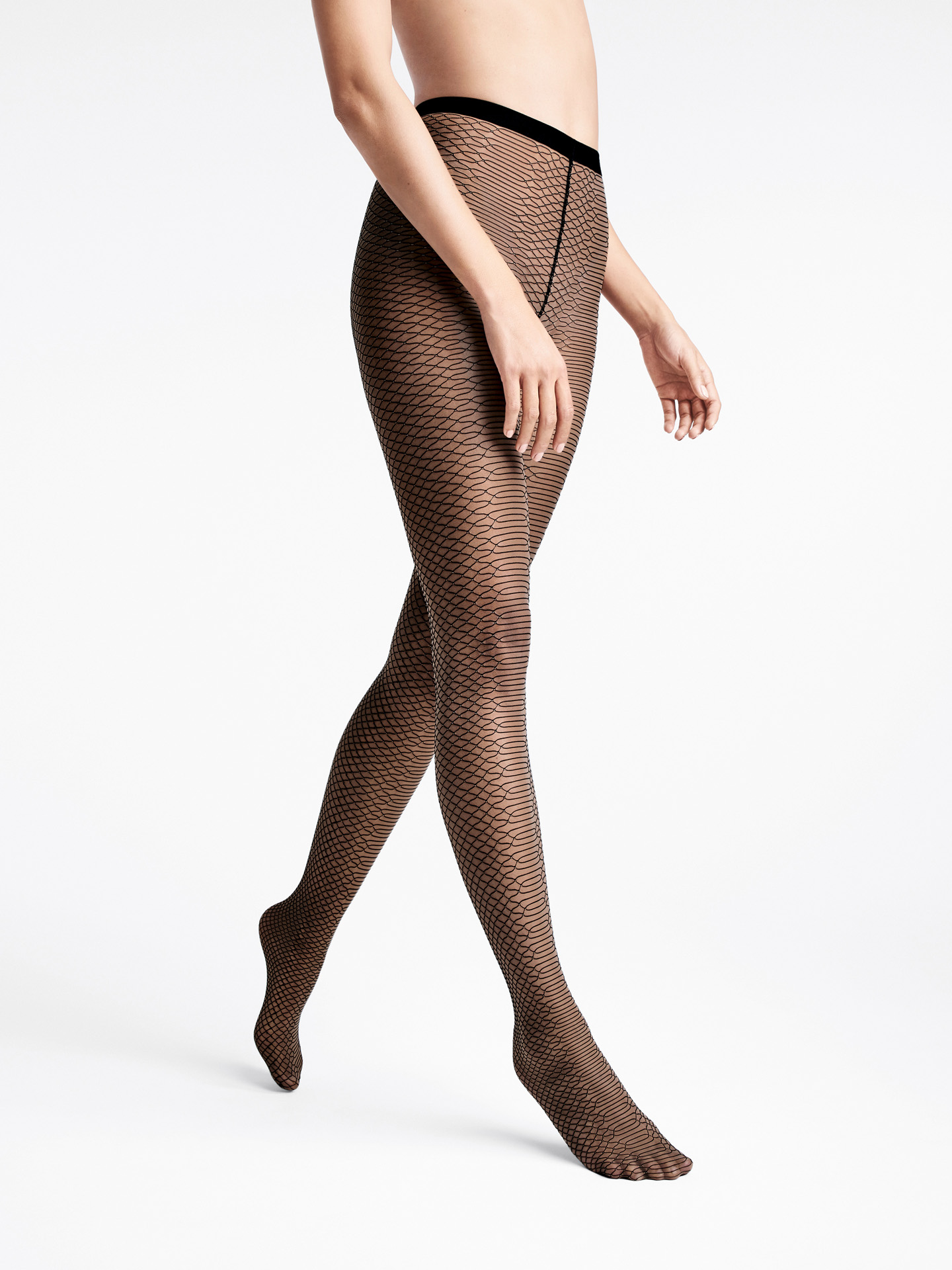 Diamond Snake Tights - black/black - S | Sportbekleidung > Sporthosen > Tights | Wolford