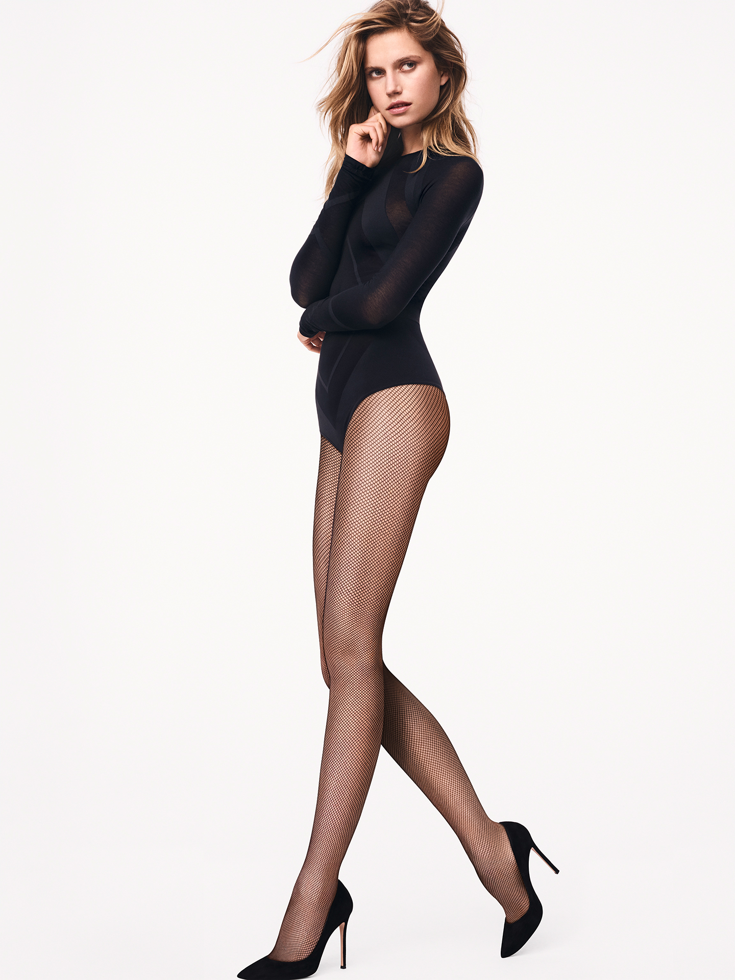Twenties Tights - black - S | Sportbekleidung > Sporthosen > Tights | Wolford