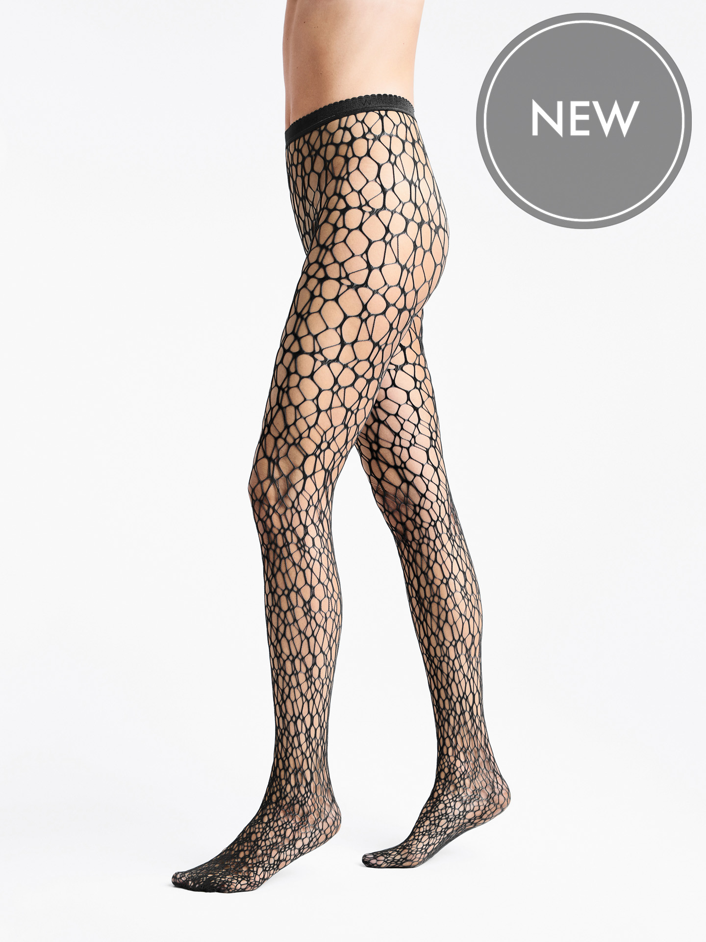 Micro Fish Scale Tights - 7005 - L | Sportbekleidung > Sporthosen > Tights | Wolford