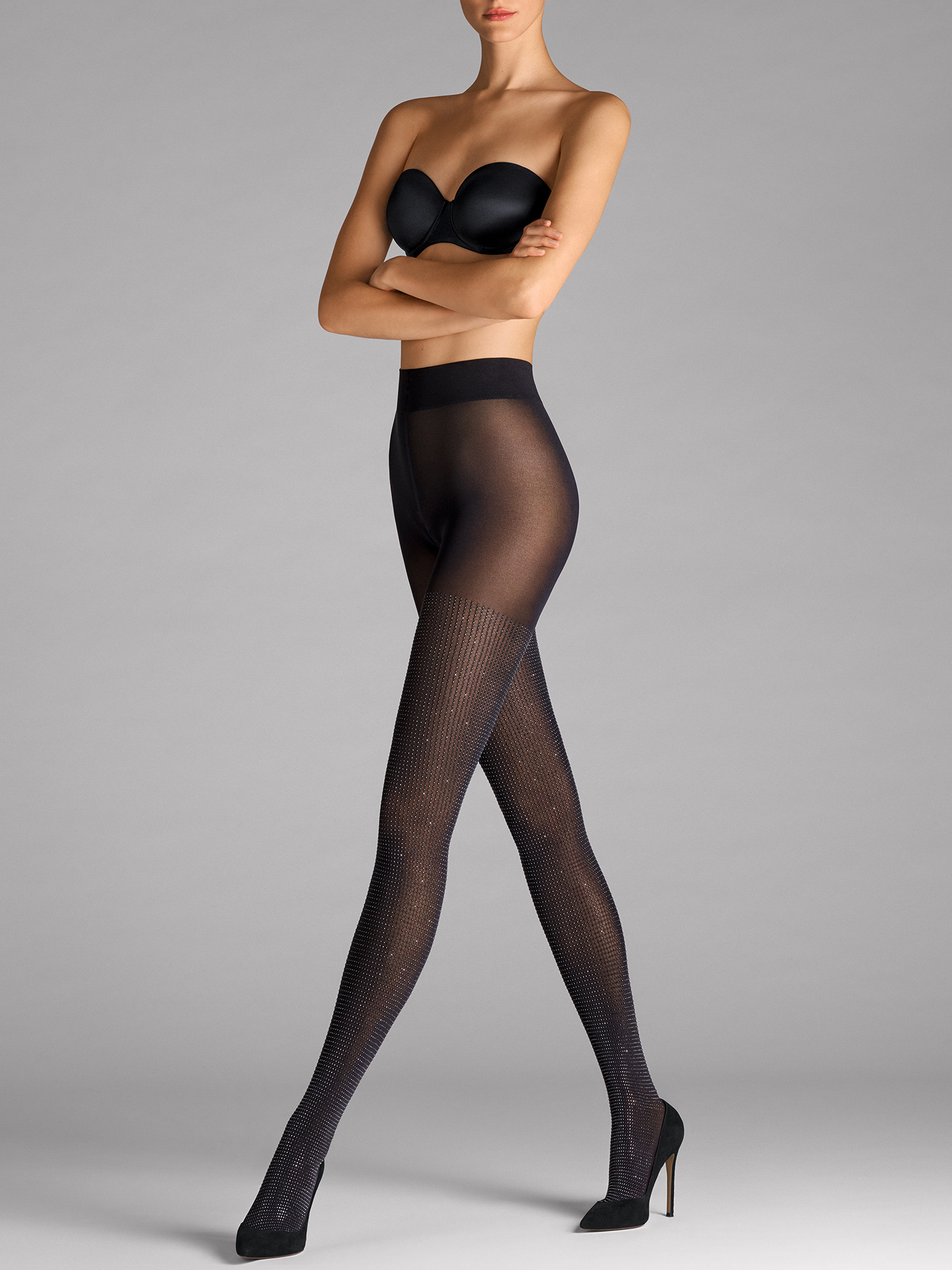 Diamond Shine Tights - 9180 - S