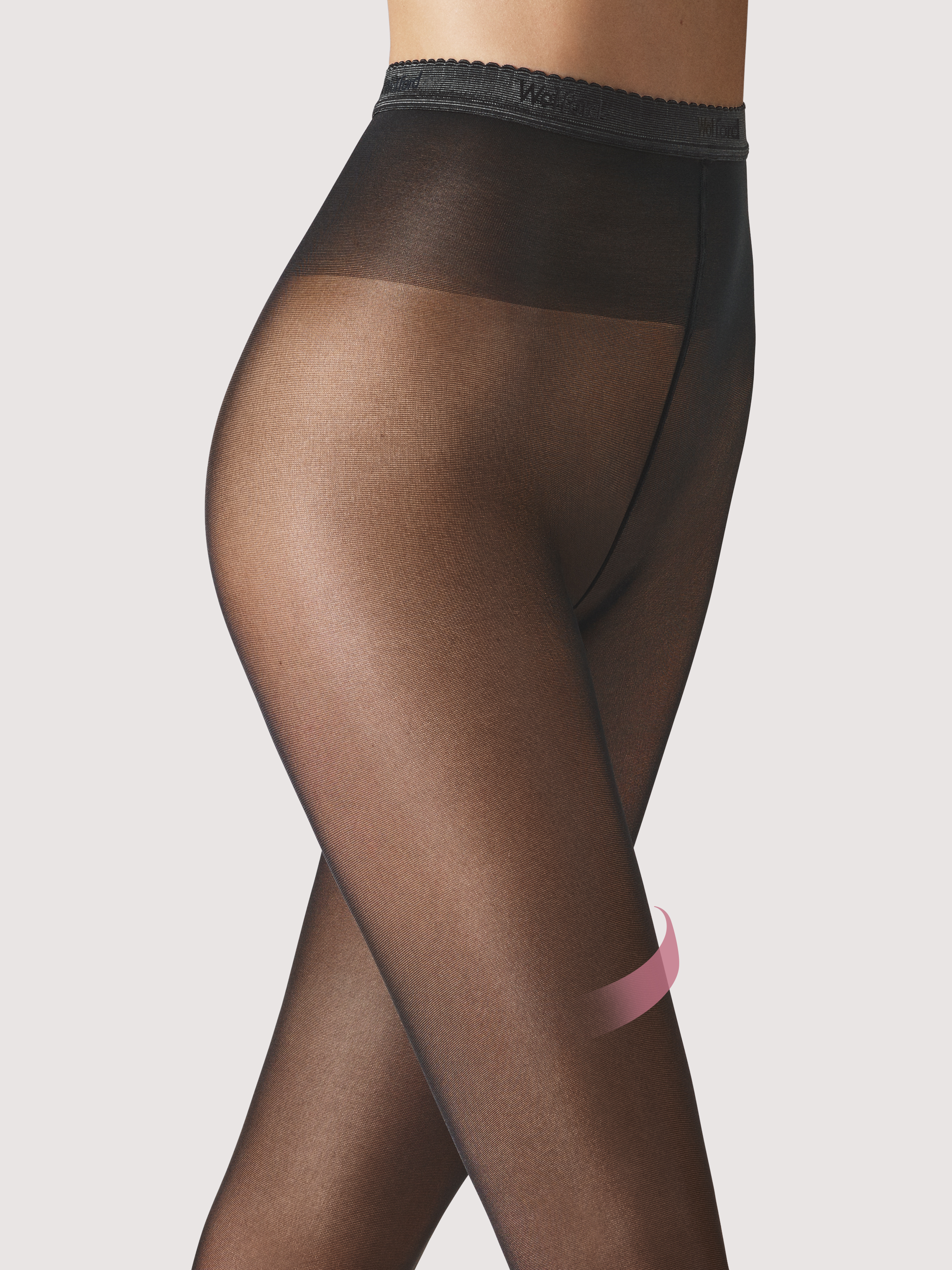 Rosemary 40 leg support Tights - nearly black - L | Sportbekleidung > Sporthosen | Wolford
