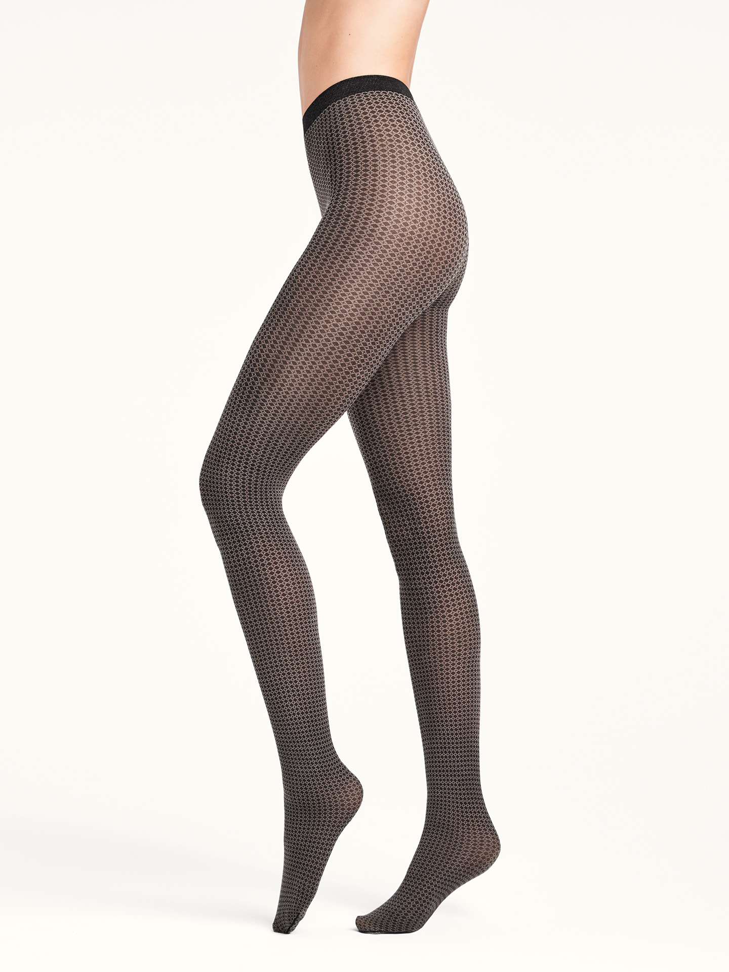 Bianca Tights - black/hematite - L | Sportbekleidung > Sporthosen > Tights | Wolford