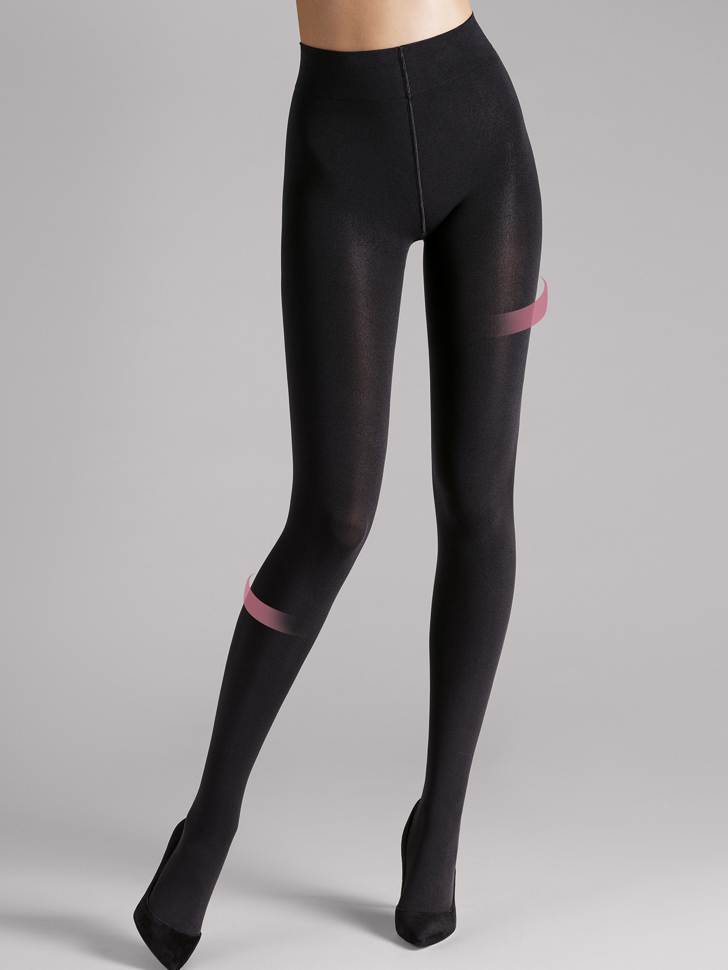 Ind. 100 Leg Support Tights - 7005 - M | Sportbekleidung > Sporthosen > Tights | Black | Wolford