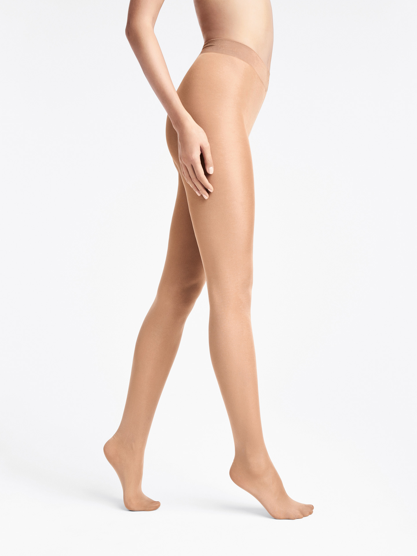 Pure Shimmer 40 Concealer Tights - gobi - XS | Sportbekleidung > Sporthosen > Tights | Wolford