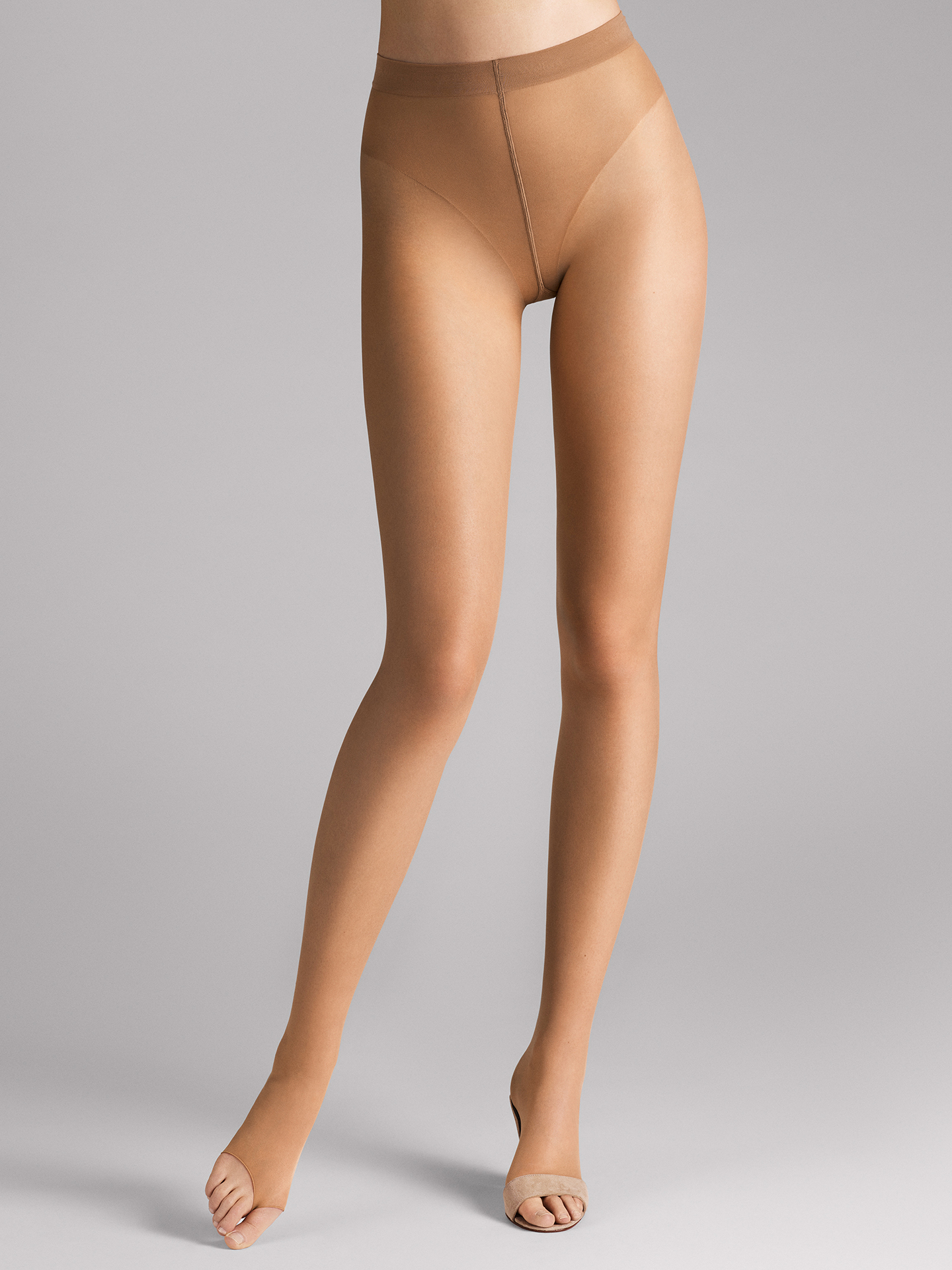 Luxe 9 Toeless Tights - 4060 - L | Sportbekleidung > Sporthosen > Tights | Wolford